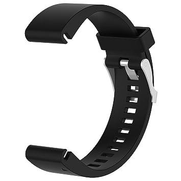 Modaworld _Correa de reloj Inteligente Correa de Silicona con Correas de Repuesto Reemplazo de Muñequeras Pulsera de Repuesto para Reloj Garmin Fenix 5s ...