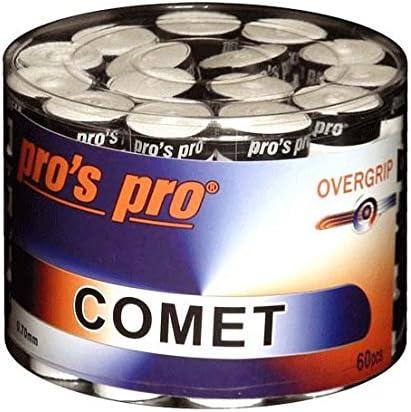 Comet S Pro Grip Surgrip raquette de tennis badminton Squash/ /Bo/îte de 60 Blanc blanc