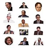 100pcs the Office Stickers - Art Focus Stickers for Hydro Flask Water Bottles Laptops Travel Case