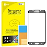 """S6 Edge Plus Screen Protector, JETech® 0.2mm Thinnest Full Screen 5.7"""" Premium Tempered Glass Screen Protector Film for Samsung Galaxy S6 Edge Plus + (Black) - 0880"""