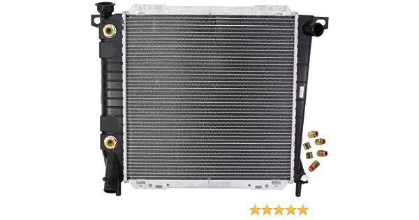 Zirgo ZFRDA954 OEM Replacement Radiator
