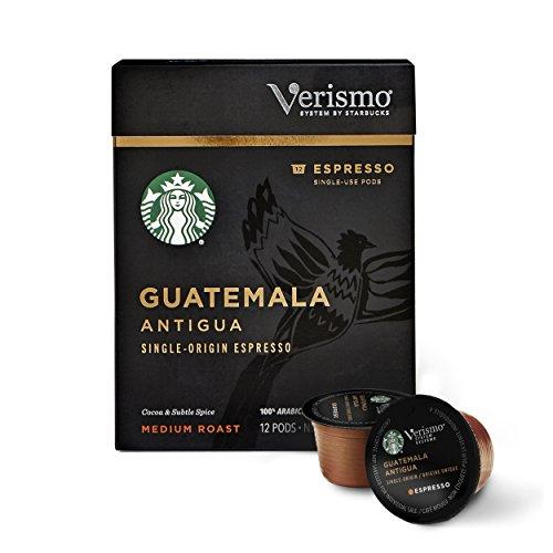 Starbucks Verismo Guatemala Single Origin Espresso product image