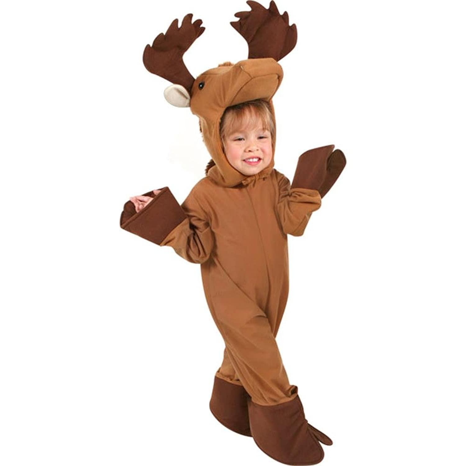 amazoncom childs toddler moose halloween costume 4t clothing - Kids Halloween Costumes Amazon