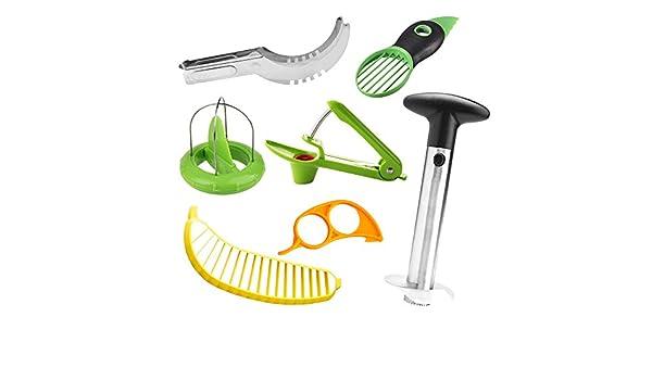 Ninja Gadgets de cocina de 7 cortadoras de fruta y corer ...