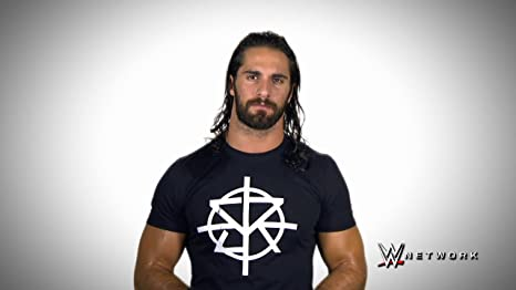 Seth Rollins Wwe Wrestler Hd Wallpaper Poster On Canvas Print 24x36