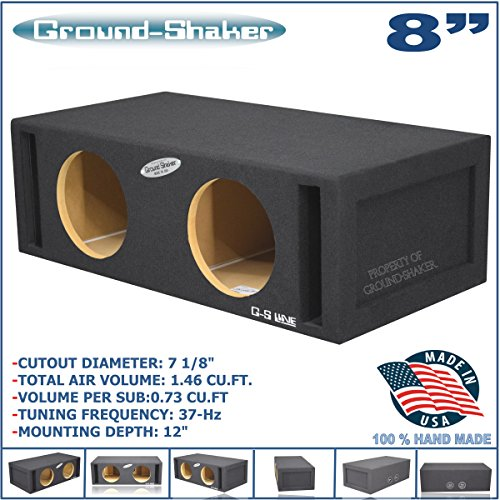 Dual 8 Inch Woofers - 9