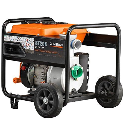 Generac 6822 208cc Gas 2 in. Semi-Trash Water Pump