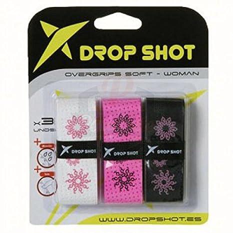 DROP SHOT 0 Pala de Pádel, Unisex Adulto, White: Amazon.es ...