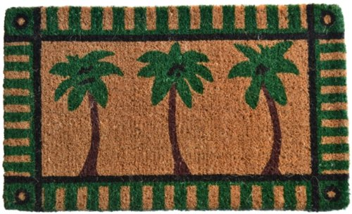 Florida Door Mat (Imports Décor Decorated Coir Doormat, Palm Tree, 18 by 30-Inch)