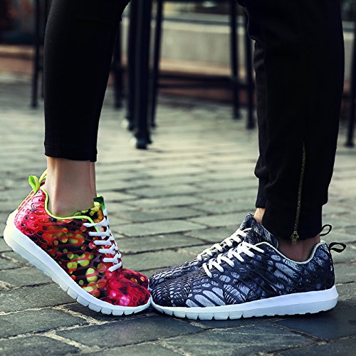 Gray Lightweight nbsp;JESSI Running Sneakers Shoes Men's Women's Outdoor Sport MAIERNISI Unisex Casual Colorful 7Uxqzzw
