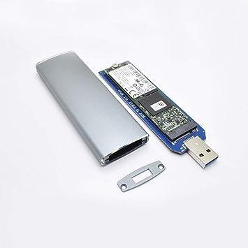 Dandeliondeme M.2 NGFF SSD a USB3.0 Caja Portátil Adaptador de ...