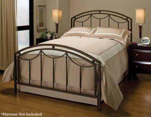 - Hillsdale Furniture 1501BK Arlington Bed Set, King, Bronze