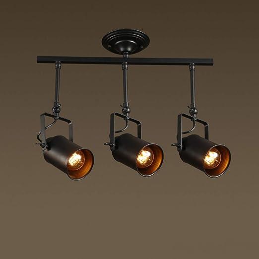 Hjbh123 HJBH Lámpara de Techo Industrial, lámpara de Metal ...