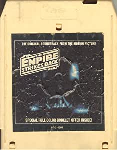 Star Wars The Empire Strikes Back Original Soundtrack From the Motion Picture 8 Track Cassette 1980 Lucas RSO