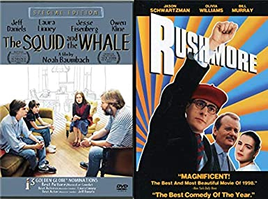 Amazon com: 2 Coming of Age Squid & The Whale + Rushmore