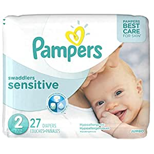 Amazon Com Pampers Swaddlers Sensitive Disposable Diapers
