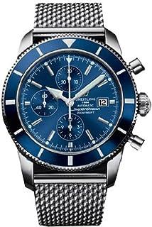 breitling men s 38mm steel bracelet case automatic black dial breitling mens superocean automatic a1332016 c758 wrist watch wristwatch