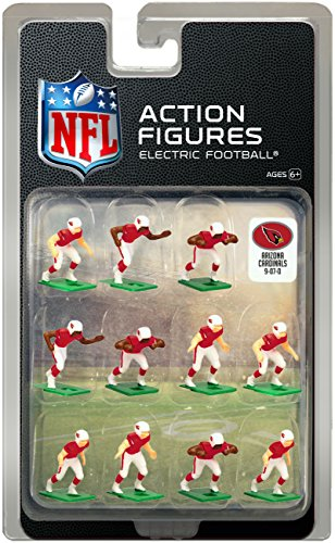 Arizona Cardinals Home Jersey NFL Action Figure Set ()