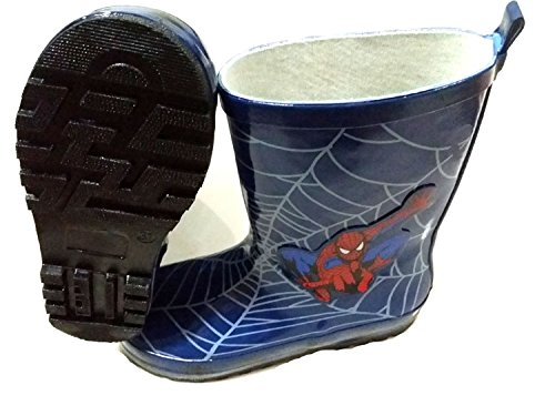 Pictures of Spider-Man Boy Kids Wellington Boots Wellies 2
