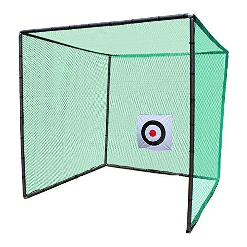 ゴルフネット 練習用 ゴルフネット 折りたたみ ゴルフ練習ネット ゴルフ練習用ネット ゴルフ用ネット ゴルフ練習 練習用ネット ゴルフ ネット 大型 長さ3m×幅3m×高さ3m 据置タイプ B01LZW7UV3