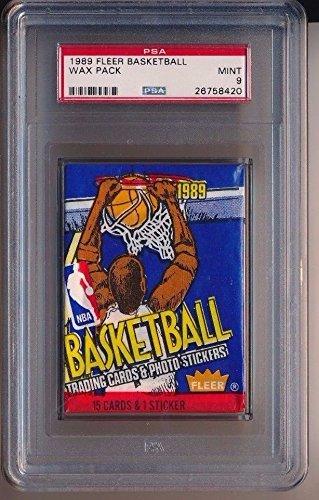 1989 Fleer Basketball Wax Pack PSA 9 MINT
