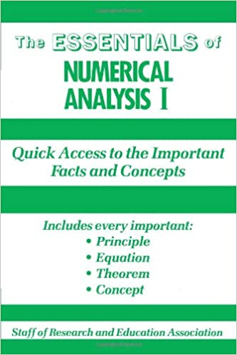 The Essentials of Numerical Analysis I