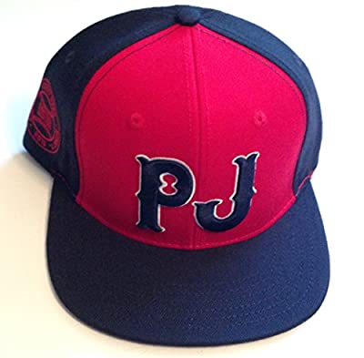 PEARL JAM Boston Red Sox Baseball Theme Snapback HAT 2016 Fenway Park Concert Tour