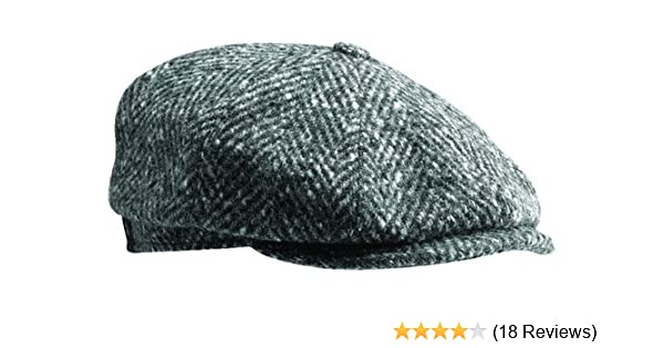 Stetson Herringbone Hatteras Newsboy Cap at Amazon Men s Clothing store  674a208001b