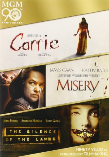 Carrie / Misery / The Silence of the Lambs Triple Feature