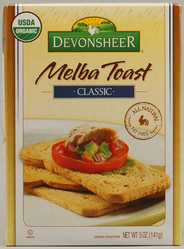 Devonsheer Classic Melba Toast, 5-Ounce Boxes (Pack of 12) by Devonsheer