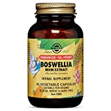 Solgar Standardized Full Potency Boswellia Resin Extract Vegetable Capsules, 60 Count