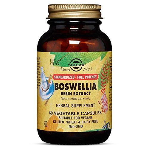 Solgar - Standardized Full Potency Boswellia Resin Extract, 60 Vegetable Capsules