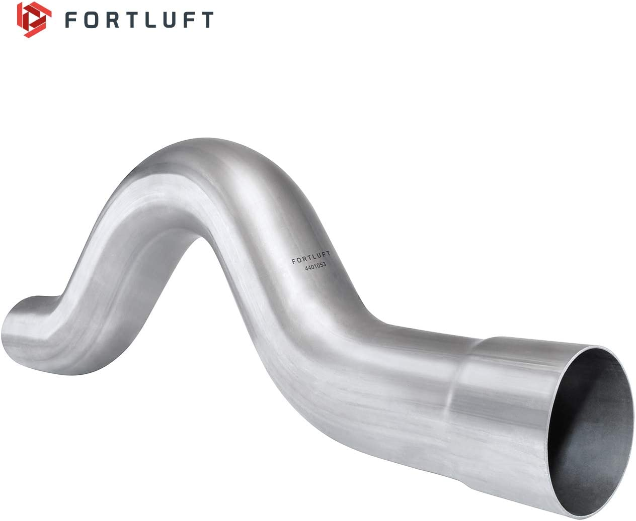 FORTLUFT Universal Mandrel Exhaust Bend Pipe Bypass Rear Axle 2.00//50.8mm