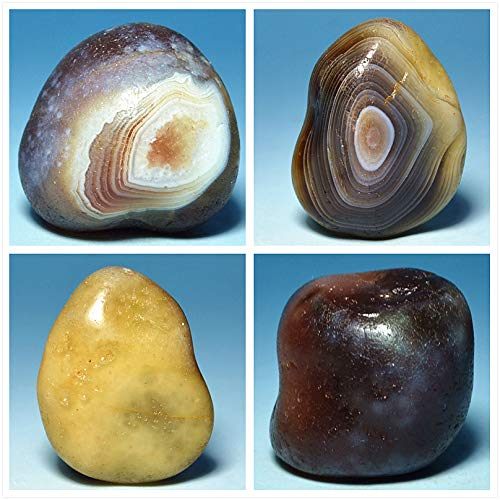 ZAMTAC Natural 3-4cm Flush Persian Agate Stone Jewelry DIY ore Mineral Crystals Teaching specimens Kistler