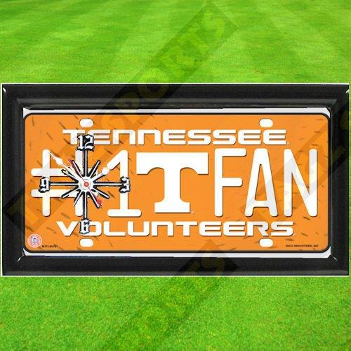 TAGZ Sports Tennessee Volunteers NCAA Clock