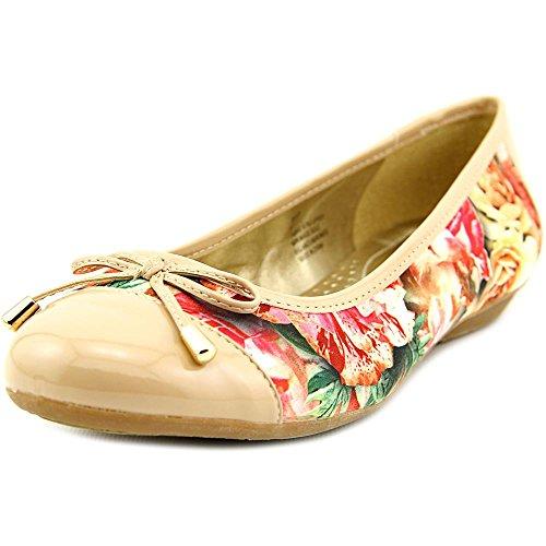 Karen Scott Dames Rylee Gesloten Teen Ballet Flats Floral1030837