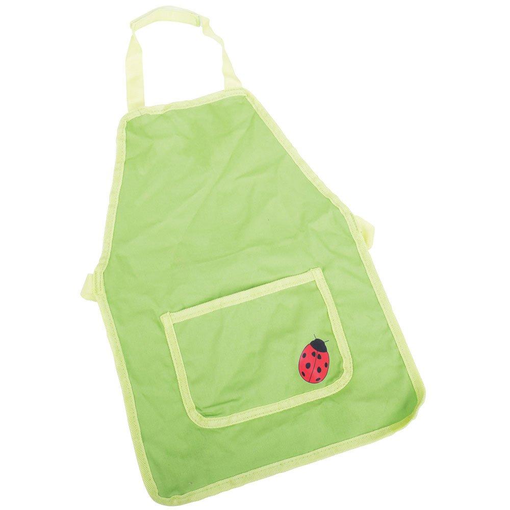 Bigjigs Toys Children's Green Garden Apron - Gardening for Kids 691621652985