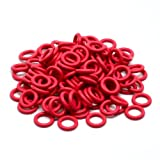 Cherry MX Rubber O-Ring Switch Dampeners Red 40A-L - 0.2mm Reduction (125pcs)