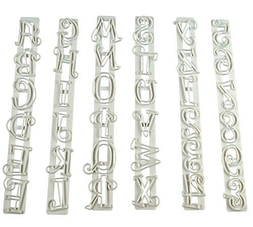 SunJas Sets Ausstecher Ausstechform Stempel Modellierwerkzeug Glätter Fondant Marzipan Tortendeko Kit Set (6er Set)