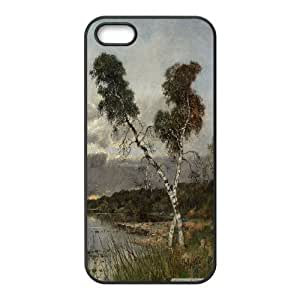 [Oil Painting & Art] Classic Painting Case for IPhone 5,5S, IPhone 5,5S Case Men Cool Protector for Girls {Black} by ruishername