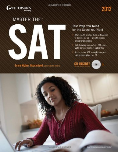 Master the SAT 2012 (w/CD) (Peterson's Master the SAT)