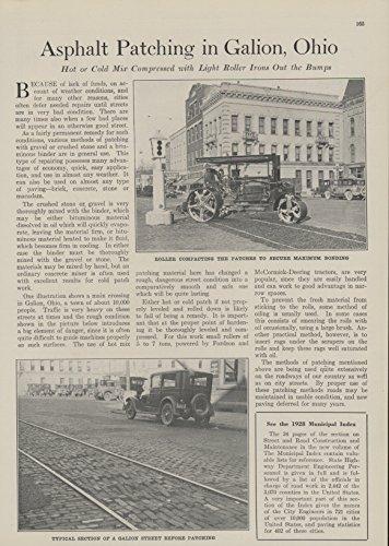 1928-article-asphalt-patching-in-galion-ohio-municipal-interest-photos-original-historical