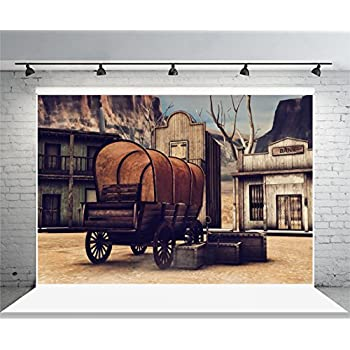 amazoncom leowefowa 9x6ft ancient western saloon
