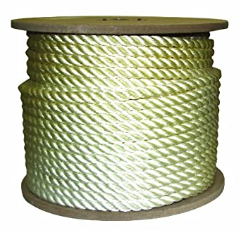 Rope King TN-58300 Twisted Nylon Rope 5/8 inch x 300 feet