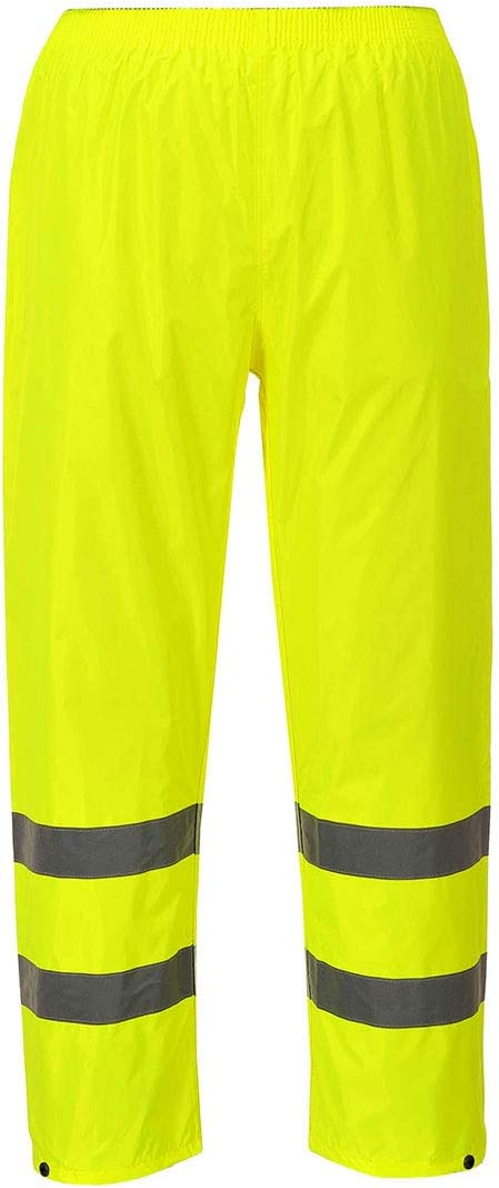 Size: 2X-Large Portwest H441YERXXL Series H441 Hi-Vis Rain Trouser Regular Yellow