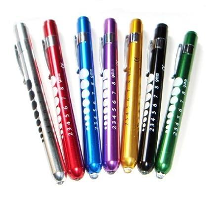 IMGソフトLEDペン型ライト瞳孔計付きノック式