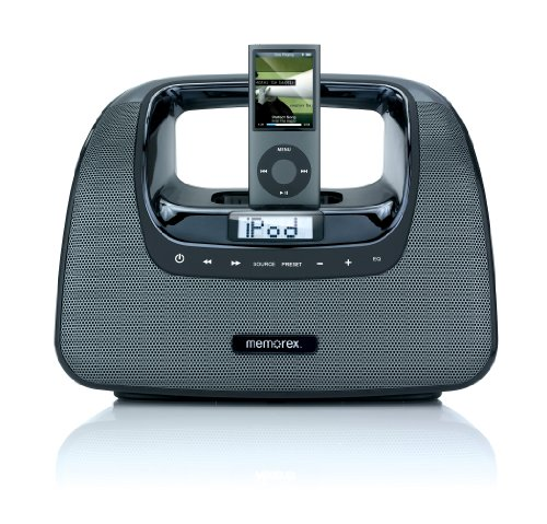 Memorex MiniMove Portable Boombox for iPod
