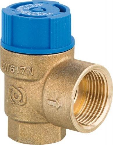 Membran Sicherheitsventil Trinkwasser Ü berdruckventil 6-10 bar Varianten Sicherheitsventil Trinkwasser Anschluss 3/4' - 8 bar evenes®