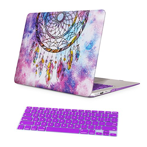 best website 15ed2 94187 low-cost Macbook Air 11 inch Case,iCasso Rubber Coated Glossy Hard ...