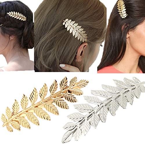 cuhair 2pcs Vintage Punk Women Girl Hair Clip Pin Claw Barrettes Accessories